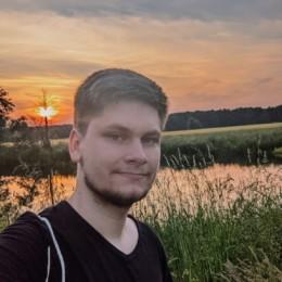 Selfie Sonnenuntergang